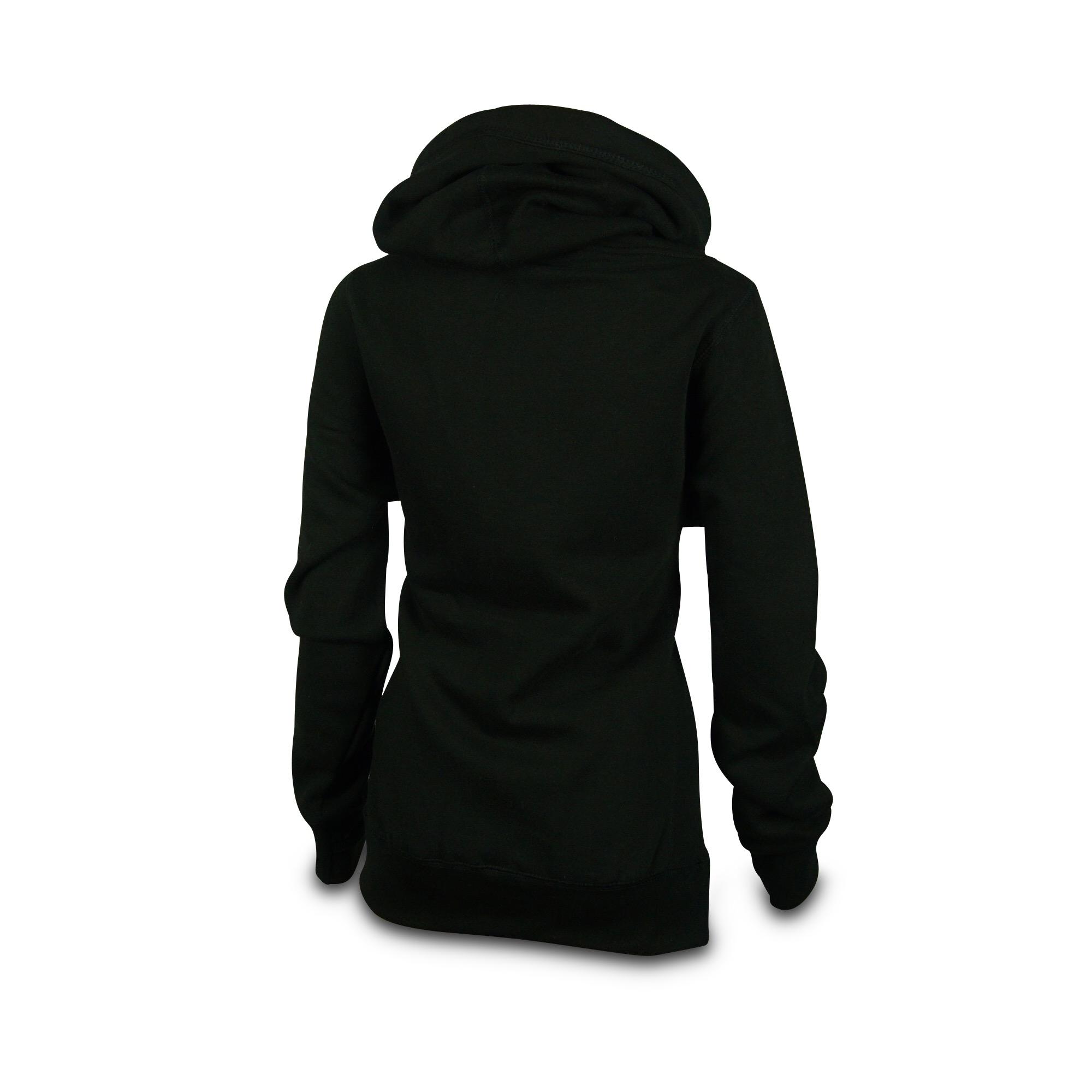 cross_neck_hoodie_damen_schwarz_hinten