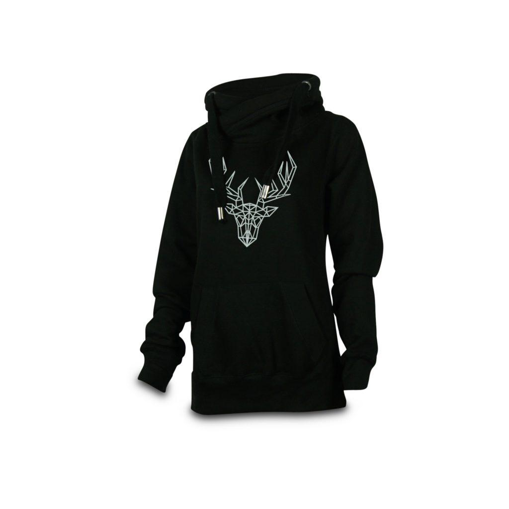 crossneck_hoodie_damen_schwarz_orig-_vorne